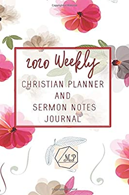 2020 Weekly Christian Planner and Sermon Notes