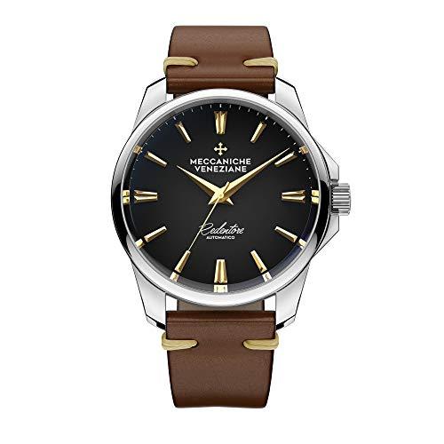 Meccaniche Veneziane Redentore Watch Black Gold Tone