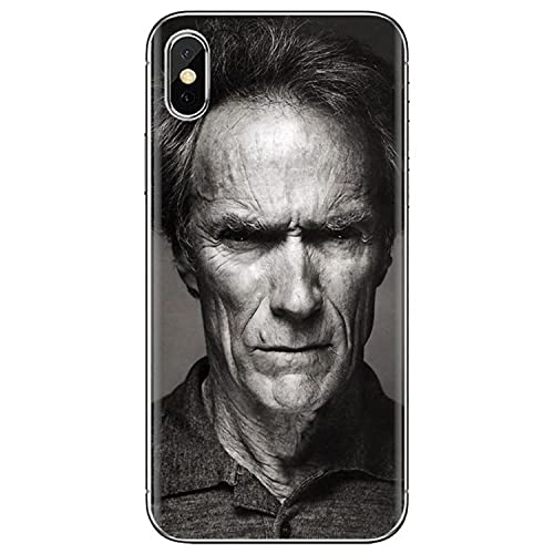 For iPhone iPod Touch 11 12 Pro 4 4S 5 5S SE 5C 6 6S 7 8 X XR XS Plus MAX 2020 Silicone Cover Taili Song Roth USA Clint Eastwood