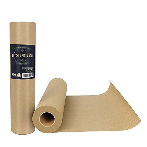 Barbecue Papier Boucher Papier Kraft Papier D'emballage Papier Boucher Certification FDA, Adapté Pour La Nourriture, Papier D'emballage Cadeau,73 * 3000CM