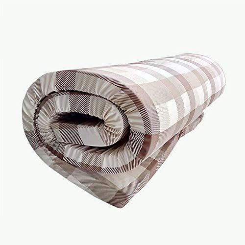 CVNJSKDKH Colchones futón Enrollable Tatami japonés Espesar extraíble portátil Plegable Resiliencia Transpirable Colchón Colchón Alfombra del Piso (Color : A-5cm, Size : 150x190cm(59x75inch))