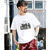 アーバンリサーチ サニーレーベル(メンズ)(URBAN RESEARCH Sonny Label) メンズTシャツ(MAGIC NUMBER SpecialOrder T-SHIRTS/Palmtree)【WHITE/L】