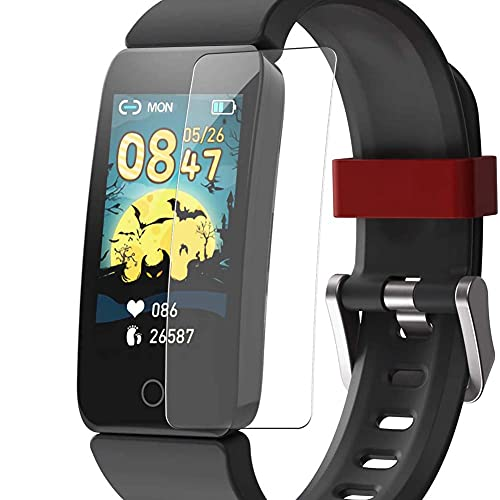 Puccy 3 Pack Screen Protector Film, compatible with DoSmarter T11 H1 Fitness Tracker Watch for Kids smartwatch TPU Guard ( Not Tempered Glass Protectors )