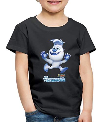 Ranger Rob Schneemil Kinder Premium T-Shirt, 122-128, Schwarz