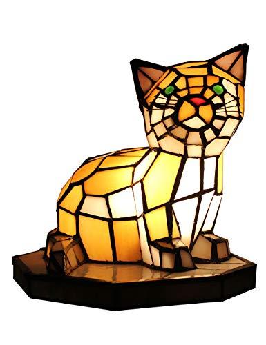 SINCESE@ Tiffany europäischen kreative Bunte Mutter & Kind Schildkröte Schildkröte Hahnrei warme Katze Tischlampe Kinder Lampe Nachtlicht