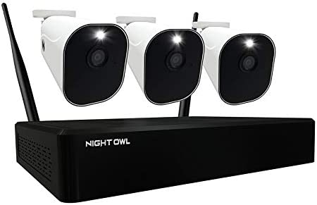 Night Owl 1080p Wire Free Smart Security System with 3 Battery Powered 1080p HD Wi Fi IP Indoor product image