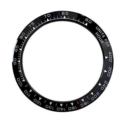 Schwarz Keramik Ersatz Armbanduhr Lünette Made für Rolex Daytona