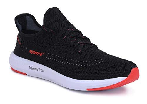 Sparx Men's Sm-482 Black Red Running Shoes-9 UK (43.5 EU) (9.5 US) (SX0482GBKRD0009)