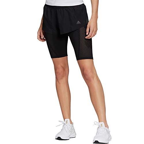 adidas Damen Two-in-One Ultra Shorts, Black, XL