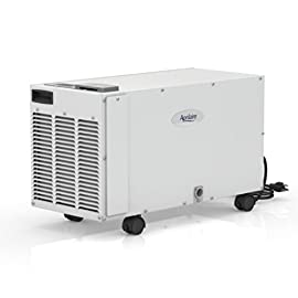 Aprilaire 1850F Large Basement Pro Dehumidifier, 95 Pint Dehumidifier for Basements 11 BUILT TO LASTwith corrosion-resistant aluminum coils, Aprilaire Dehumidifiers are designed and manufactured in the U.S.A. by Aprilaire, the leader in indoor air quality solutions REDUCES & CONTROLS BASEMENT HUMIDITYto help prevent damp carpeting and furnishings, mold, mildew, and odors HELPS PREVENT MOLD, TERMITES, STRUCTURAL WOOD ROT, AND ODORSin a sealed crawlspace