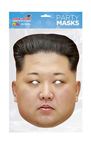 Rubies DTRUM02 Donald Trump Kim Jong Un Talla única bunt