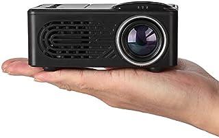 XuBa Mini Projector LCD LED Portable Projector Home Theatre Cinema Video Media Player Black AU Plug