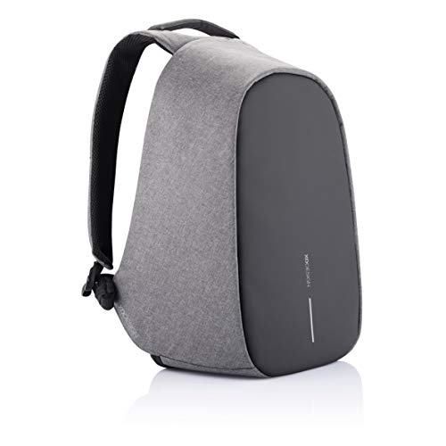 XD Design Bobby Pro Anti-Theft Backpack Grey USB/Type C (Unisex Bag)