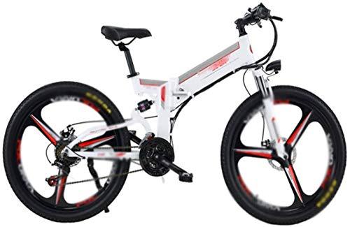 RDJM Bici electrica, 26 en Bicicletas eléctricas 48V / 12Ah batería de...