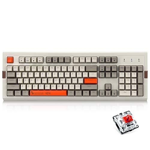 Ajazz AK510 Retro Mechanical Gaming Keyboard