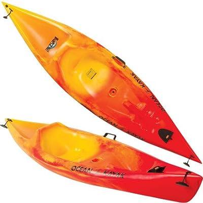 Ocean Kayak Banzai Sit-On-Top Kayak, 9-Feet x 6-Inch, Sunrise