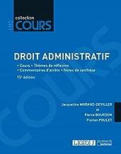 Droit administratif : Cours, thèmes de réflexion, commentaires d'arrêts, notes de synthèse