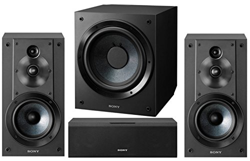 Sony 5.1-Channel Surround Sound Multimedia Home Theater Speaker Bundle