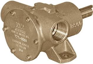 Jabsco 777-9003 Bronze Pedestal Self-Priming 17.8 GPM Pump Nitrile Impeller Pump, 1