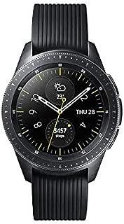 Samsung Galaxy Watch (42mm) Smartwatch (Bluetooth) Android/iOS Compatible -SM-R810 – Intenational Version -No Warranty (Midnight Black)