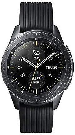 Samsung Galaxy Watch (42mm) Smartwatch (Bluetooth) Android/iOS Compatible -SM-R810 – Intenational Version -No Warranty … (Midnight Black)