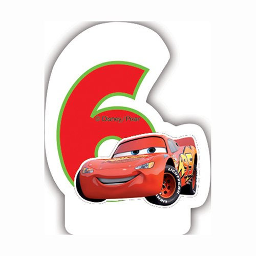 Disney Neon Cars 5ème Bougie d'anniversaire