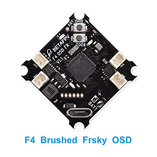 BETAFPV F4 FC 1S Brushed Flight Controller with SPI Frsky Receiver OSD Smart Audio for FPV Tiny Whoop Micro Racing Drone