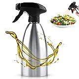 ANGGREK Acero inoxidable Portátil Reutilizable Líquido de lavado Condimento Rociador de agua Dispensador de aceite de oliva BBQ Cocina Botella de spray para cocina BBQ