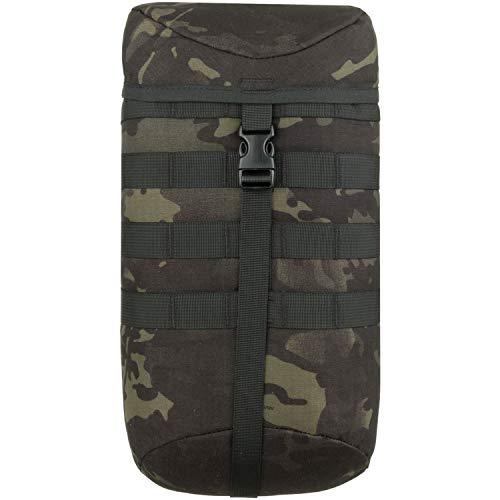 Wisport extra Taschen für Rucksack + inkl. E-Book   Zusatztaschen   Seitentaschen   Backpack Zubehör   Trekkingrucksack   9 Liter   Cordura   Multicam Black