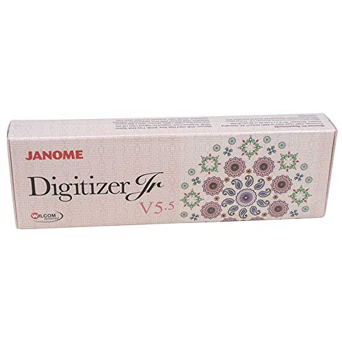 Janome Digitizer Junior V5.5 for Machines with Embroidery Function to Digitize Your Own Embroidery...