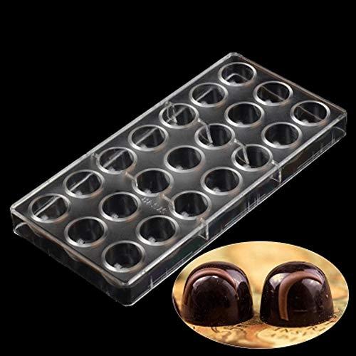 チョコレート型 お菓子作り 便当 ケーキ 氷格子 モールド DIY ポリカーボネート ギフトセット付 弾丸形