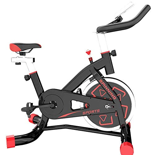 Fantastic Prices! QAQA Spinning Bicycle Home Exercise Bike Indoor Training Bicycle, Sports Equipment...