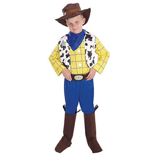 Fun Shack Amarillo Vaquero Disfraz para Niños y Niñas - M