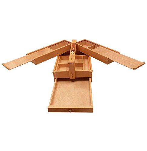 Cassetta per artisti in legno'MyArte' 34x23,5x13 - VUOTE, OLMO, 34x23.5x13