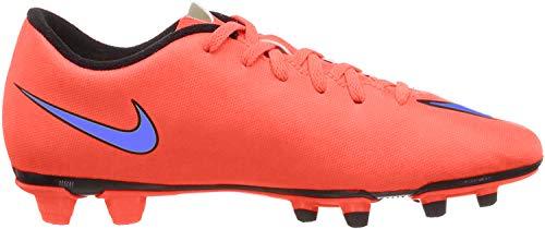 Nike Mercurial Vortex Hombre, para Hombres, Tacos de fútbol, 651647-650, Brillante Carmesí Persa Violeta, Talla 9,5