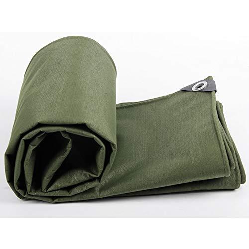 Lonas Resistentes | Cubierta de Remolque Impermeable para Carpa de Suelo | Lonas en Muchos tamaños y espesores | Cubierta Verde Lona Multiusos