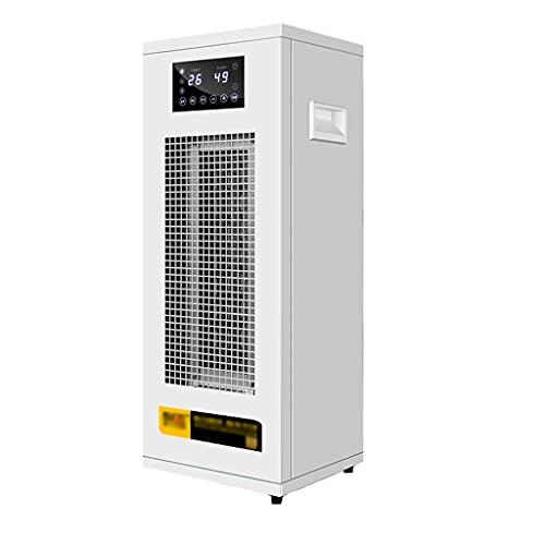 Acondicionador de Aire Del Calentador Comercial,Soplador de Aire Caliente Industrial de Bajo Consumo,3000 W, Termostato Regulable, 3 Modos de Funcionamiento, Protección Sobrecalentamiento Y Antivuel