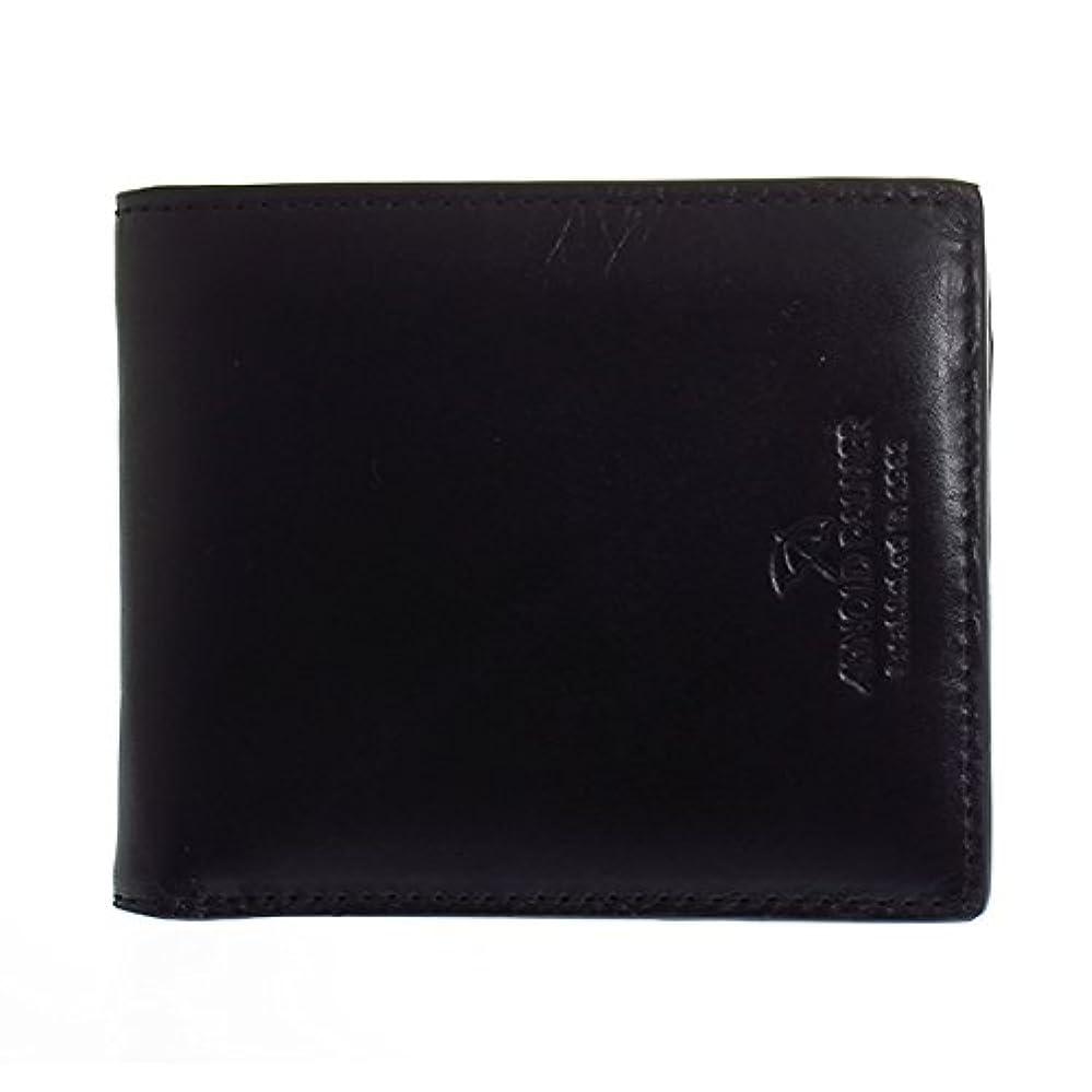 最初にヘッジ精神アーノルドパーマー ARNOLD PALMER コンビカラー 二つ折り短財布 メンズ 4AP3253-BK ブラック 財布?小物 財布 短財布 mirai1-550010-ak [並行輸入品] [簡易パッケージ品]