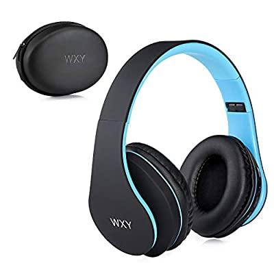 WXY Bluetooth Headphones,Wireless Over-Ear Foldable Hi-Fi Stereo Headset