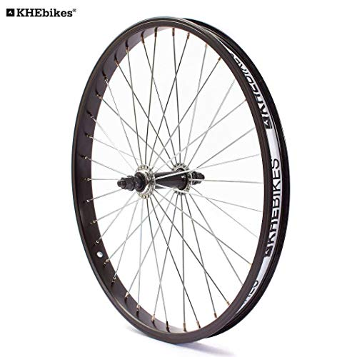 KHE BMX Vorderrad Alu Felge 36 Loch 10mm mit KHE Felgenband Made in Germany