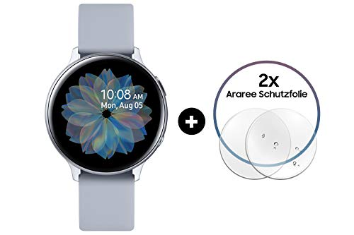 Samsung Galaxy Watch Active2 Aluminium 40 mm (Explorer Edition) silber
