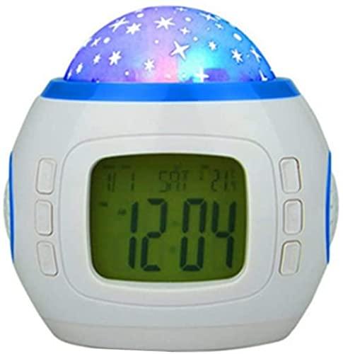Reloj Digital Reloj Relojes Digitales Reloj de proyección de cabecera Reloj de Mesa Reloj de cabecera Reloj led Reloj de Dormitorio Reloj Despertador para niños