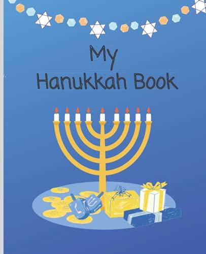 My Hanukkah Book: Primary Composition Notebook