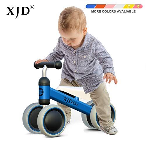 XJD Baby Balance Bike 1 Year Baby Walker Ride On Toys for 1-2 Year Old Boys Girls Baby Walking Bike First Bike (Blue)