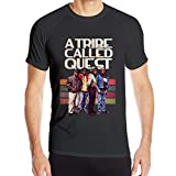 Jianyao Men's Sunshine Short Sleeve A Tribe Called Quest T-Shirts Outdoor Sports Quick-Drying Clothes