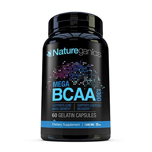 Natureganics MEGA BCAA Amino Acids