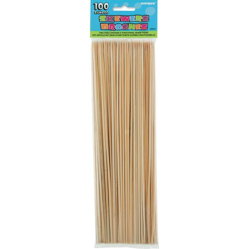 Bamboo BBQ Skewers, 100ct
