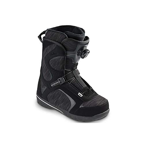 HEAD Women's Galore LYT Boa Coiler Quick-Dry Freestyle Snowboard Boots, Black, 245
