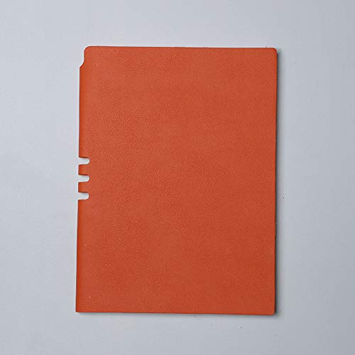 Cuaderno - Cuaderno Para Estudiantes, Tamaño Pequeño, Fresco, Estilo, Naranja, A5