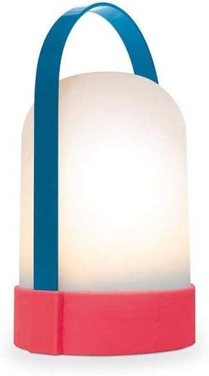 Remember Bernadette Lámpara, Unisex Adulto, Azul, 24,8 cm
